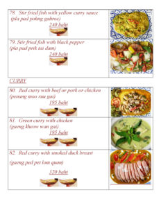 Thai Food at Yupins Restaurant in Jomtien Pattaya Page 3