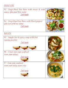 Thai Food at Yupins Restaurant in Jomtien Pattaya Page 4