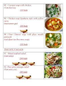 Thai Food at Yupins Restaurant in Jomtien Pattaya Page 5