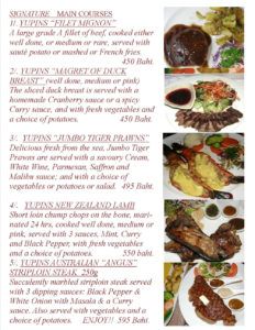 Signature Dishes in Pattaya Jomtien Restaurant Page 2